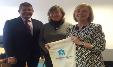 Ministers Visit Childminding Ireland Offices