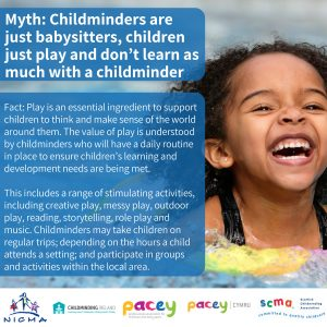 Childminders are more than babysitters