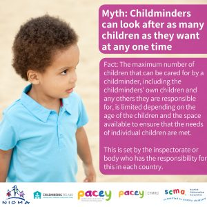 Childminders have a limit