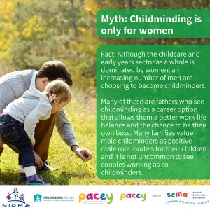 Childminding is for Men too