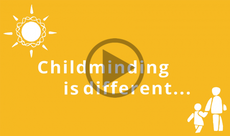 Research confirms that childminding is different