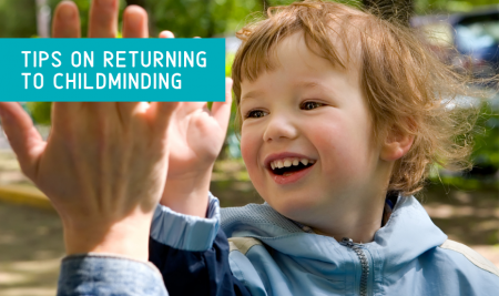 What to Expect as Children Return to Childminding